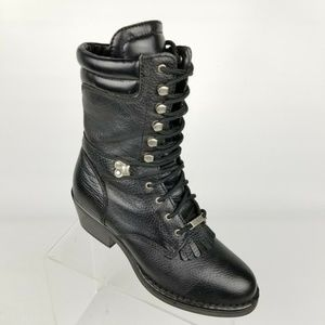 Double H Boot Womens Opanka Packer Boots Black 8 M